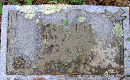MILLS, BABY - Scott County, Arkansas | BABY MILLS - Arkansas Gravestone Photos