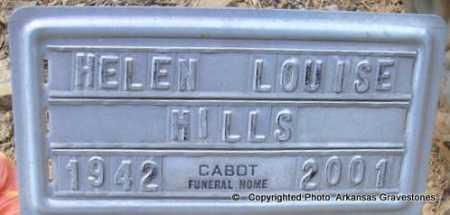 MILLS, HELEN LOUISE - Scott County, Arkansas   HELEN LOUISE MILLS - Arkansas Gravestone Photos