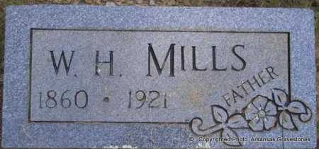 MILLS, W H - Scott County, Arkansas   W H MILLS - Arkansas Gravestone Photos