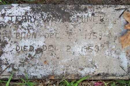 MINER, JERRY WAYNE - Scott County, Arkansas | JERRY WAYNE MINER - Arkansas Gravestone Photos