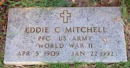 MITCHELL  (VETERAN WWII), EDDIE C - Scott County, Arkansas | EDDIE C MITCHELL  (VETERAN WWII) - Arkansas Gravestone Photos