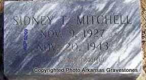 MITCHELL, SIDNEY T - Scott County, Arkansas | SIDNEY T MITCHELL - Arkansas Gravestone Photos