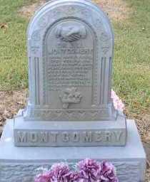 MONTGOMERY, DR  JOHN M  (2ND  STONE) - Scott County, Arkansas | DR  JOHN M  (2ND  STONE) MONTGOMERY - Arkansas Gravestone Photos
