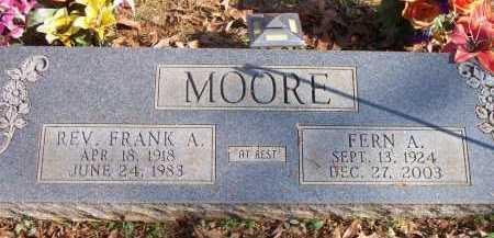 COSSEY MOORE, FERN A - Scott County, Arkansas | FERN A COSSEY MOORE - Arkansas Gravestone Photos