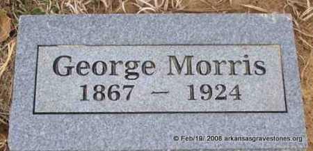 MORRIS, GEORGE - Scott County, Arkansas | GEORGE MORRIS - Arkansas Gravestone Photos