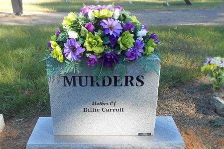SPAINHOUR MURDERS, MARTHA LOU (BACK OF STONE) - Scott County, Arkansas | MARTHA LOU (BACK OF STONE) SPAINHOUR MURDERS - Arkansas Gravestone Photos