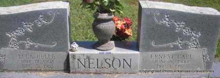 NELSON, ERNEST CARL - Scott County, Arkansas   ERNEST CARL NELSON - Arkansas Gravestone Photos