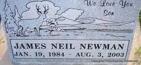 NEWMAN, JAMES NEIL - Scott County, Arkansas | JAMES NEIL NEWMAN - Arkansas Gravestone Photos