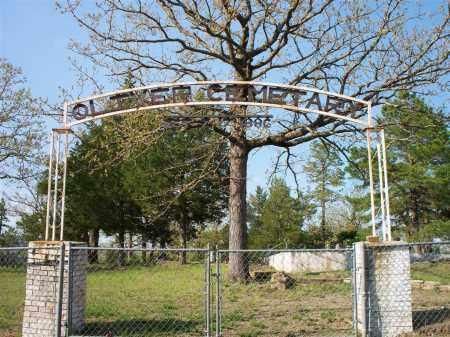 *OLIVER, GATE & GPS - Scott County, Arkansas | GATE & GPS *OLIVER - Arkansas Gravestone Photos