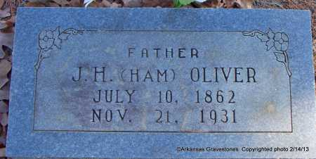 "OLIVER, J H   ""HAM"" - Scott County, Arkansas 