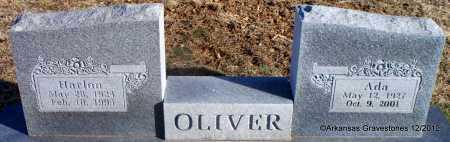 OLIVER, ADA - Scott County, Arkansas   ADA OLIVER - Arkansas Gravestone Photos