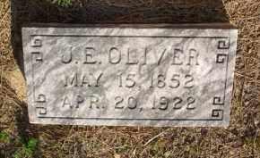 OLIVER, J  E - Scott County, Arkansas | J  E OLIVER - Arkansas Gravestone Photos