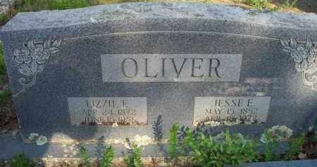 OLIVER, LIZZIE E - Scott County, Arkansas | LIZZIE E OLIVER - Arkansas Gravestone Photos