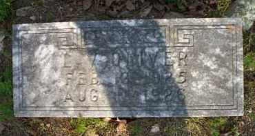OLIVER, L  V - Scott County, Arkansas | L  V OLIVER - Arkansas Gravestone Photos