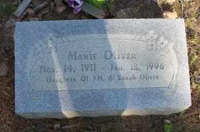OLIVER, MARIE - Scott County, Arkansas | MARIE OLIVER - Arkansas Gravestone Photos