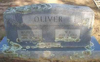 OLIVER, W F - Scott County, Arkansas | W F OLIVER - Arkansas Gravestone Photos