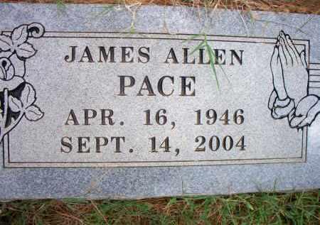 PACE, JAMES ALLEN - Scott County, Arkansas | JAMES ALLEN PACE - Arkansas Gravestone Photos