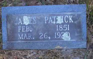 PATRICK, JAMES - Scott County, Arkansas | JAMES PATRICK - Arkansas Gravestone Photos