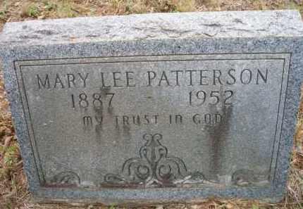 PATTERSON, MARY LEE - Scott County, Arkansas   MARY LEE PATTERSON - Arkansas Gravestone Photos