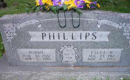 PHILLIPS, BOBBIE - Scott County, Arkansas | BOBBIE PHILLIPS - Arkansas Gravestone Photos