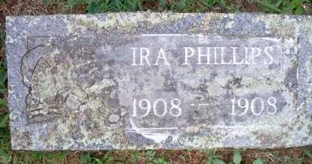 PHILLIPS, IRA - Scott County, Arkansas | IRA PHILLIPS - Arkansas Gravestone Photos