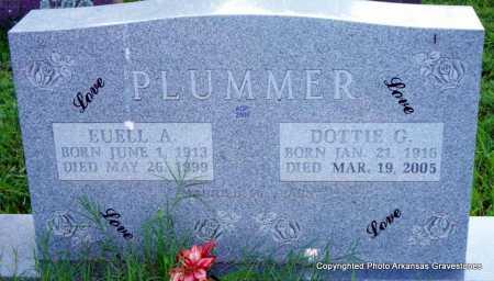 PLUMMER, DOTTIE G - Scott County, Arkansas   DOTTIE G PLUMMER - Arkansas Gravestone Photos