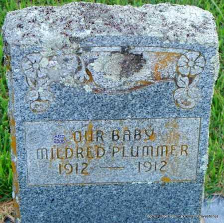 PLUMMER, MILDRED - Scott County, Arkansas | MILDRED PLUMMER - Arkansas Gravestone Photos