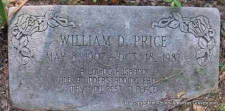PRICE, WILLIAM D - Scott County, Arkansas | WILLIAM D PRICE - Arkansas Gravestone Photos