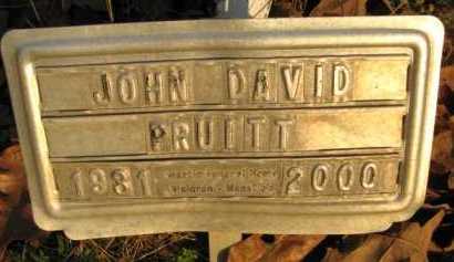 PRUITT, JOHN DAVID - Scott County, Arkansas   JOHN DAVID PRUITT - Arkansas Gravestone Photos