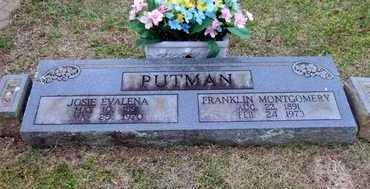 "PUTMAN, FRANKLIN MONTGOMERY ""FRANK"" - Scott County, Arkansas | FRANKLIN MONTGOMERY ""FRANK"" PUTMAN - Arkansas Gravestone Photos"