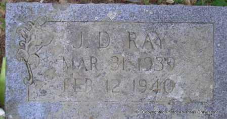 RAY, J  D - Scott County, Arkansas | J  D RAY - Arkansas Gravestone Photos