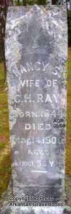 RAY, NANCY S - Scott County, Arkansas | NANCY S RAY - Arkansas Gravestone Photos
