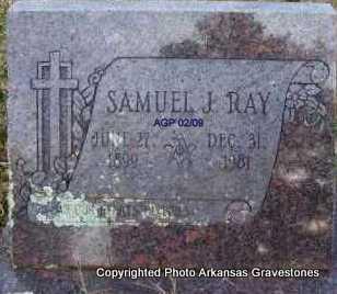 RAY, SAMUEL J - Scott County, Arkansas | SAMUEL J RAY - Arkansas Gravestone Photos