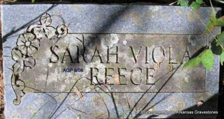 REECE, SARAH VIOLA - Scott County, Arkansas   SARAH VIOLA REECE - Arkansas Gravestone Photos