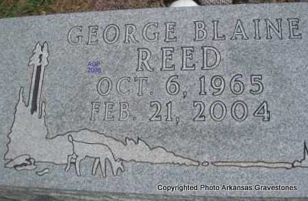 REED, GEORGE BLAINE - Scott County, Arkansas | GEORGE BLAINE REED - Arkansas Gravestone Photos