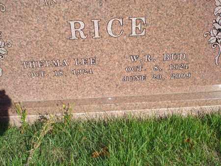 RICE VETERAN WWII W R BUD Scott County Arkansas W R