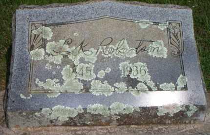 ROBERTSON  (VETERAN CSA), L K - Scott County, Arkansas | L K ROBERTSON  (VETERAN CSA) - Arkansas Gravestone Photos