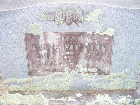 ROBINSON, BUENA - Scott County, Arkansas | BUENA ROBINSON - Arkansas Gravestone Photos