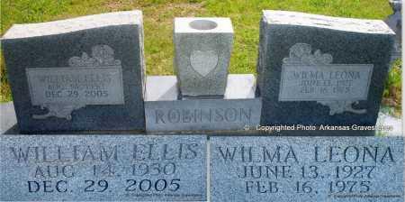 ROBINSON, WILMA LEONA - Scott County, Arkansas   WILMA LEONA ROBINSON - Arkansas Gravestone Photos
