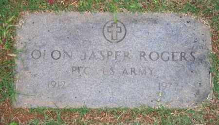 ROGERS  (VETERAN), OLON JASPER - Scott County, Arkansas | OLON JASPER ROGERS  (VETERAN) - Arkansas Gravestone Photos