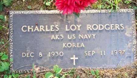 ROGERS  (VETERAN KOR), CHARLES LOY - Scott County, Arkansas | CHARLES LOY ROGERS  (VETERAN KOR) - Arkansas Gravestone Photos