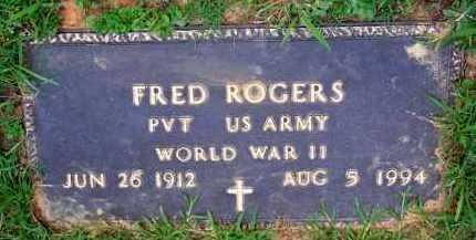 ROGERS  (VETERAN WWII), FRED - Scott County, Arkansas | FRED ROGERS  (VETERAN WWII) - Arkansas Gravestone Photos