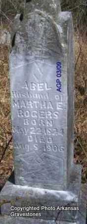 ROGERS, ABEL - Scott County, Arkansas | ABEL ROGERS - Arkansas Gravestone Photos