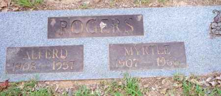 ROGERS, ALFERD - Scott County, Arkansas | ALFERD ROGERS - Arkansas Gravestone Photos