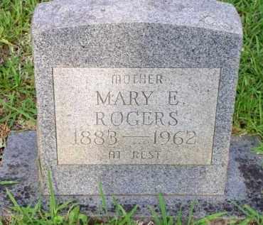 ROGERS, MARY E - Scott County, Arkansas   MARY E ROGERS - Arkansas Gravestone Photos