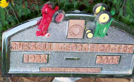 ROGERS, RUSSELL GEORGE - Scott County, Arkansas | RUSSELL GEORGE ROGERS - Arkansas Gravestone Photos