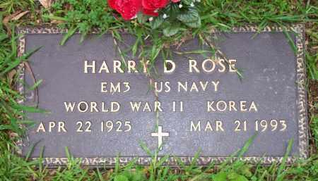 ROSE  (VETERAN 2 WARS), HARRY D - Scott County, Arkansas | HARRY D ROSE  (VETERAN 2 WARS) - Arkansas Gravestone Photos
