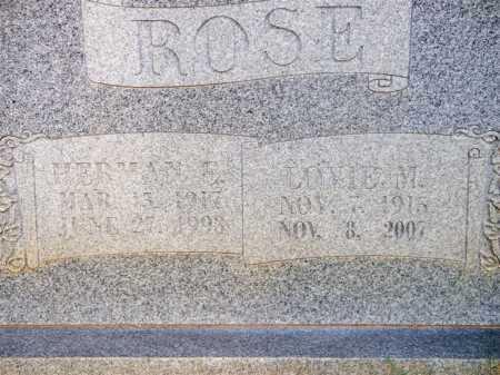 ROSE, HERMAN E - Scott County, Arkansas | HERMAN E ROSE - Arkansas Gravestone Photos