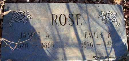 BUCHANAN ROSE, EMILY SUSAN - Scott County, Arkansas | EMILY SUSAN BUCHANAN ROSE - Arkansas Gravestone Photos