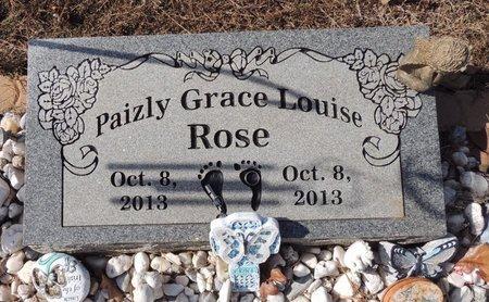 ROSE, PAIZLY GRACE LOUISE - Scott County, Arkansas | PAIZLY GRACE LOUISE ROSE - Arkansas Gravestone Photos